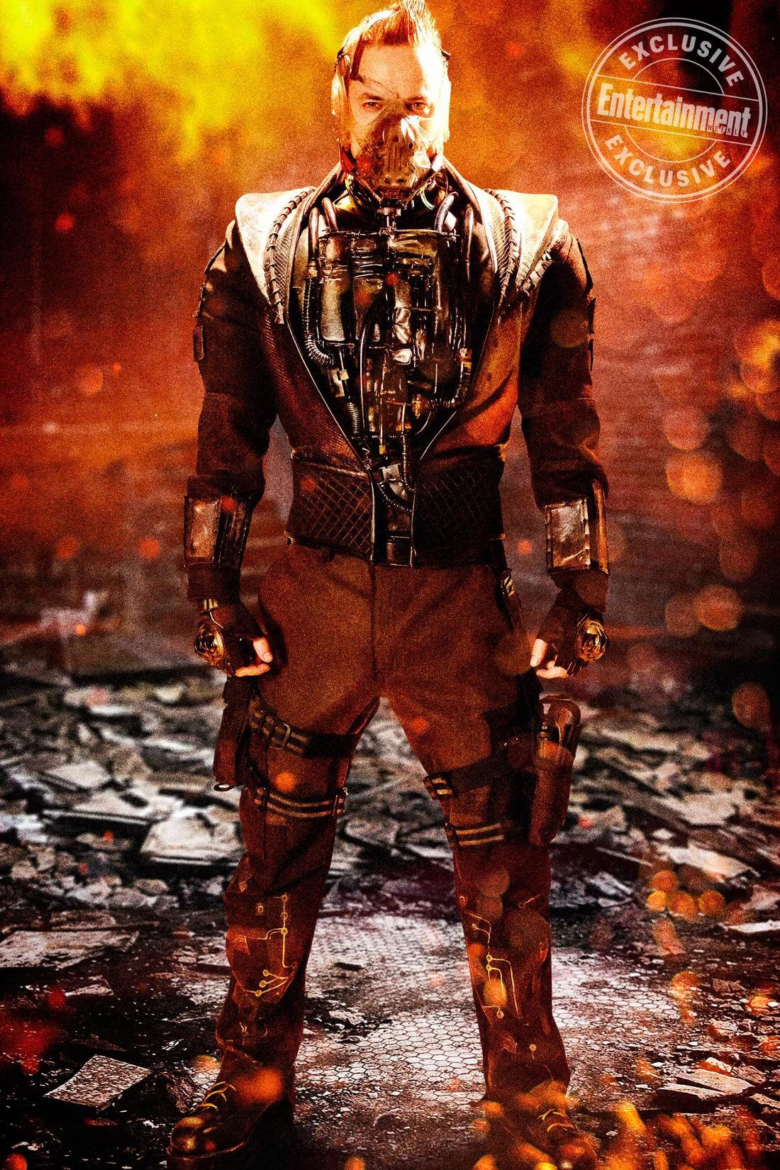 Nell\'ultima stagione di Gotham arriva Bane, l\'acerrimo nemico di Batman: FOX svela le foto