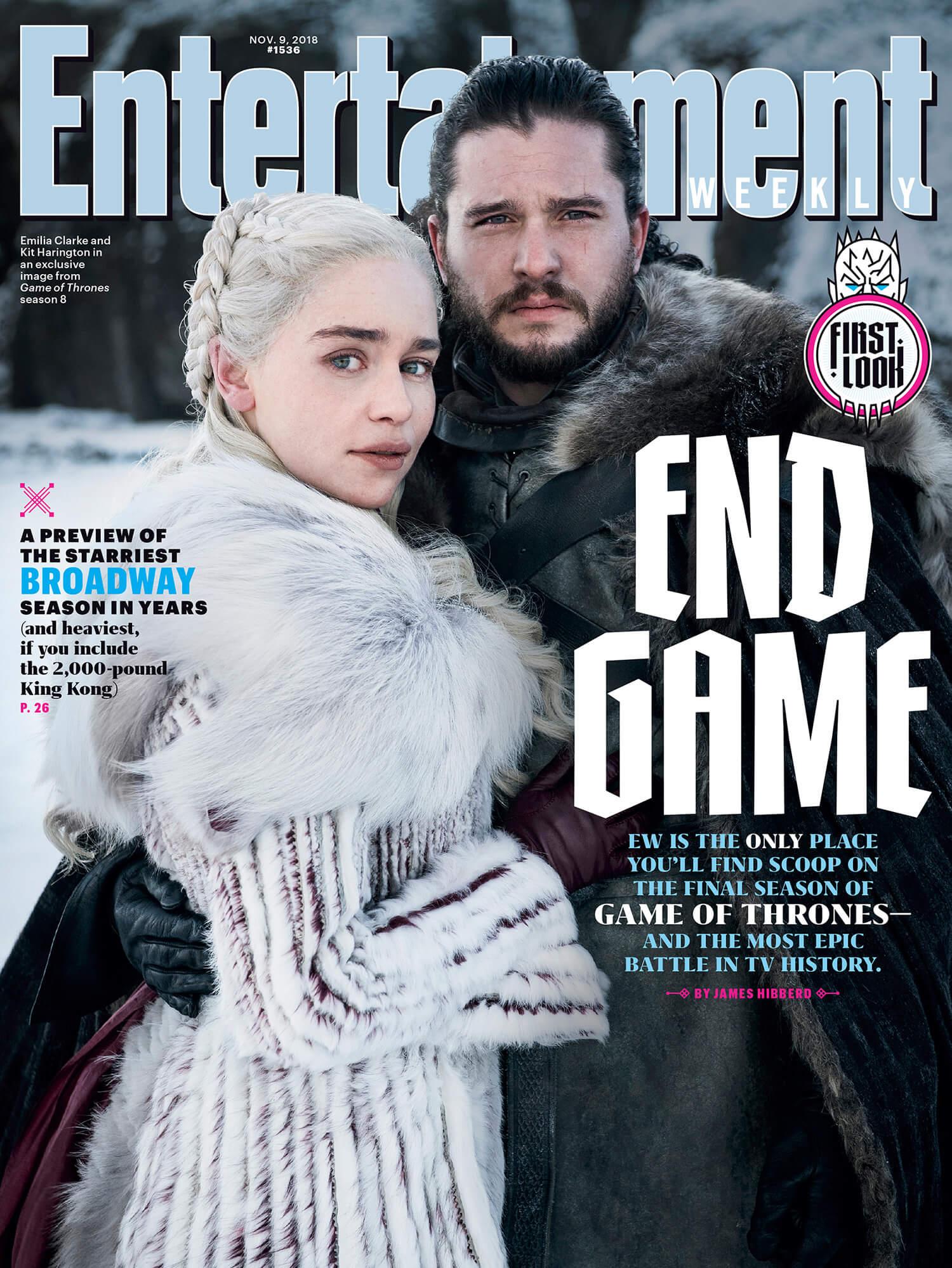 Game of Thrones: svelata la Prima Foto dell\'8° Stagione