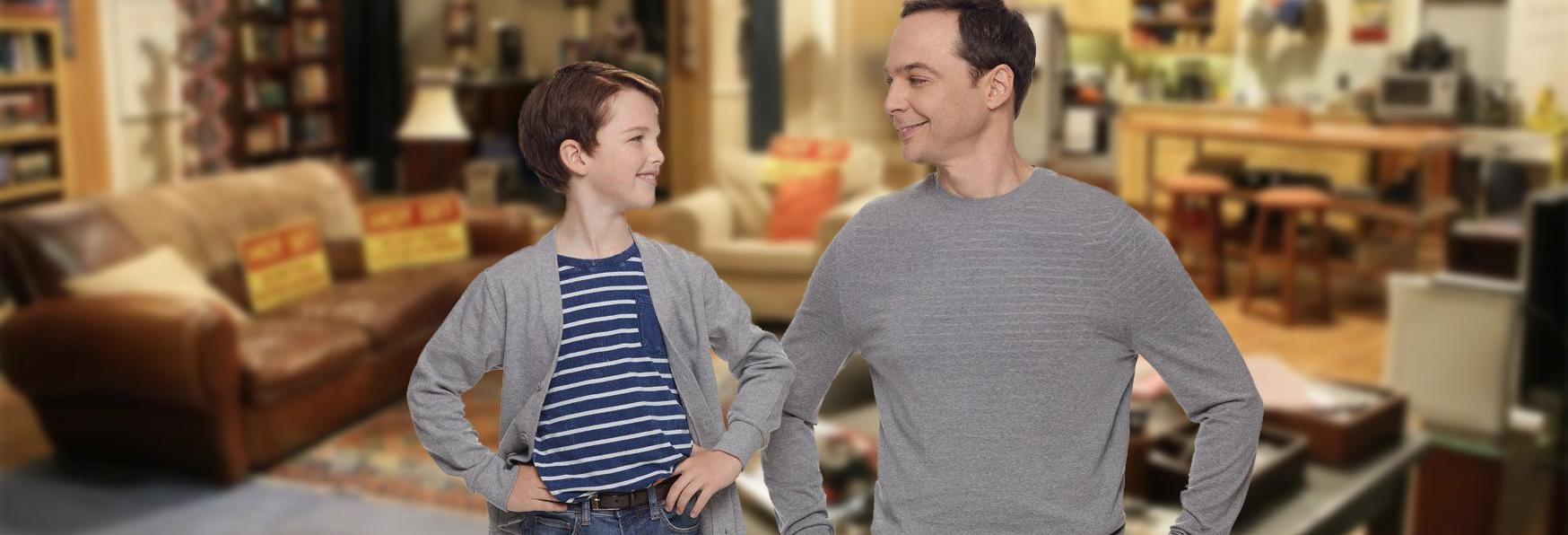 In arrivo un crossover tra i due Sheldon Cooper