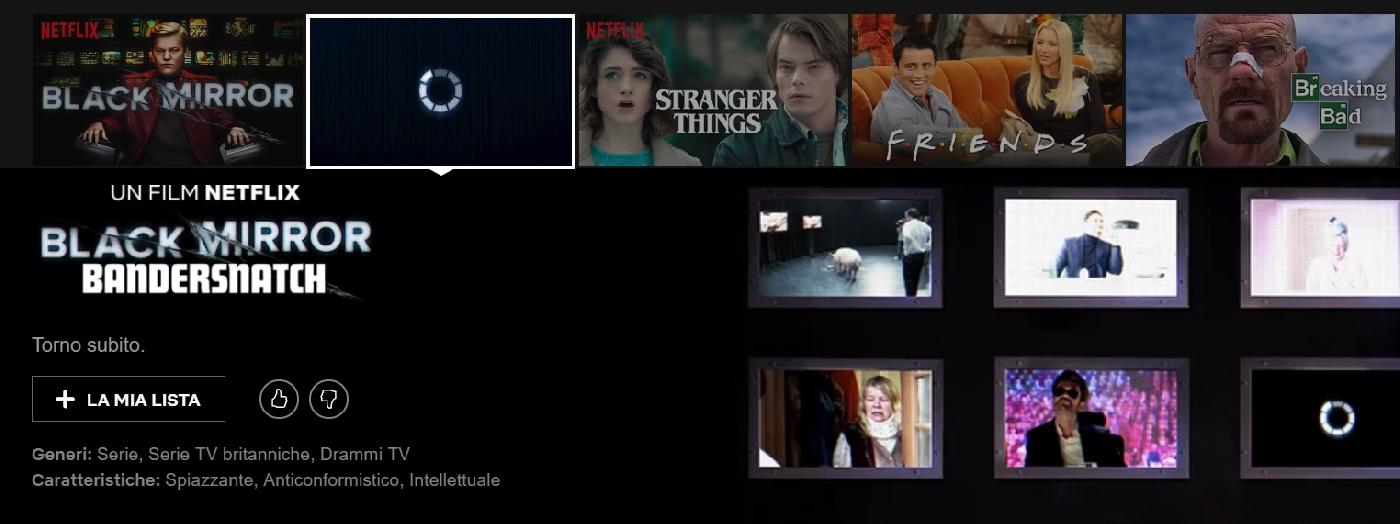 film interattivo netflix