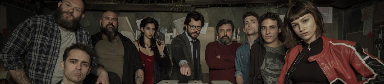 La Casa de Papel: il Nuovo Video di Netflix con Protagonista Il Professore