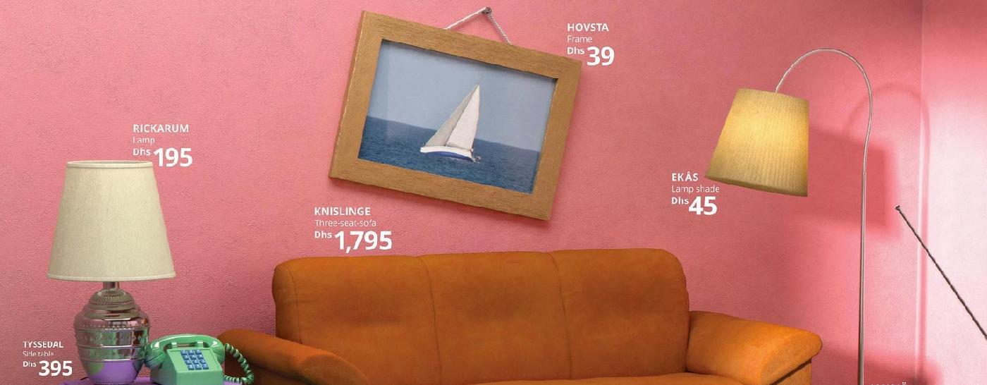 Ikea ricrea fedelmente i Salotti di Famose Serie TV con i suoi Prodotti