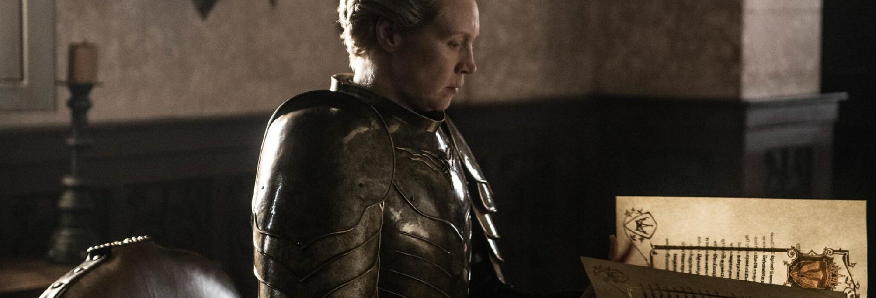 Game of Thrones: Svelato un Dettaglio Commovente nell'Ultima Scena di Brienne