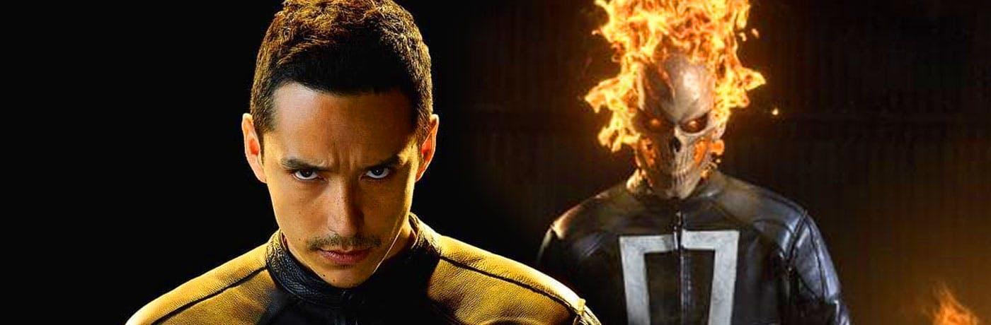 Ghost Rider: Gabriel Luna twetta una bozza del suo personaggio