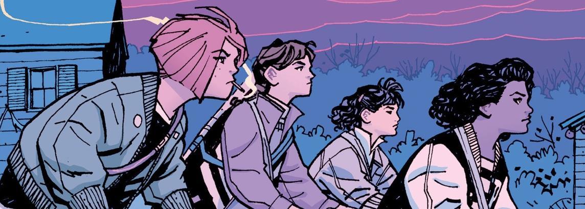 Paper Girls: gli Amazon Studios realizzeranno una Serie basata sui Noti Fumetti