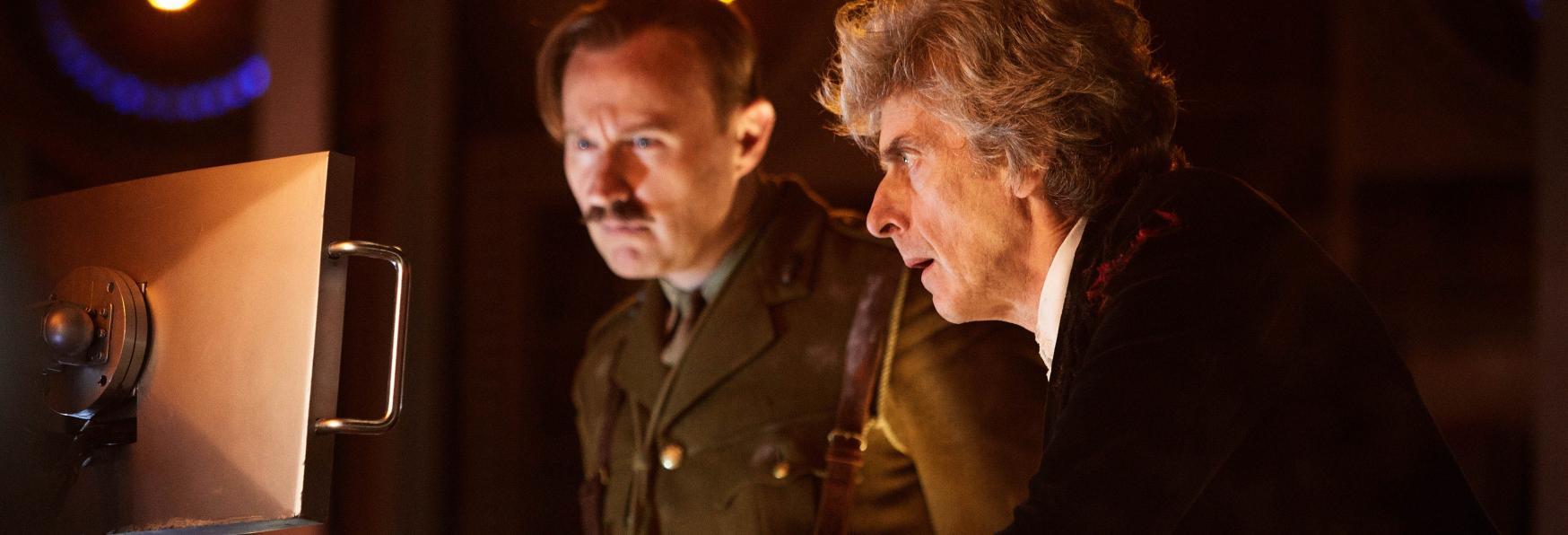 Doctor Who: Peter Capaldi e Mark Gatiss di nuovo Insieme per uno Special Natalizio
