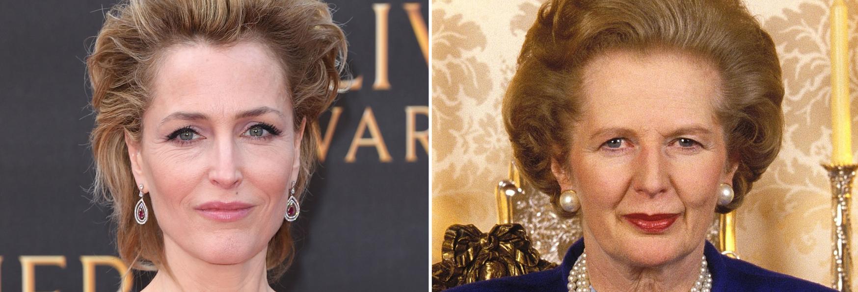 The Crown 4: le Primissime Foto di Gillian Anderson nelle vesti di Margaret Thatcher