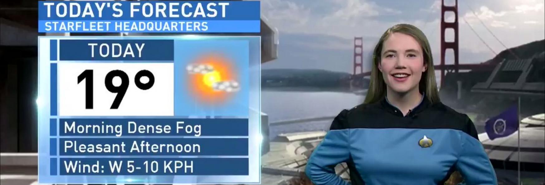 Star Trek: Previsioni del Tempo molto Particolari da una Fan di Picard