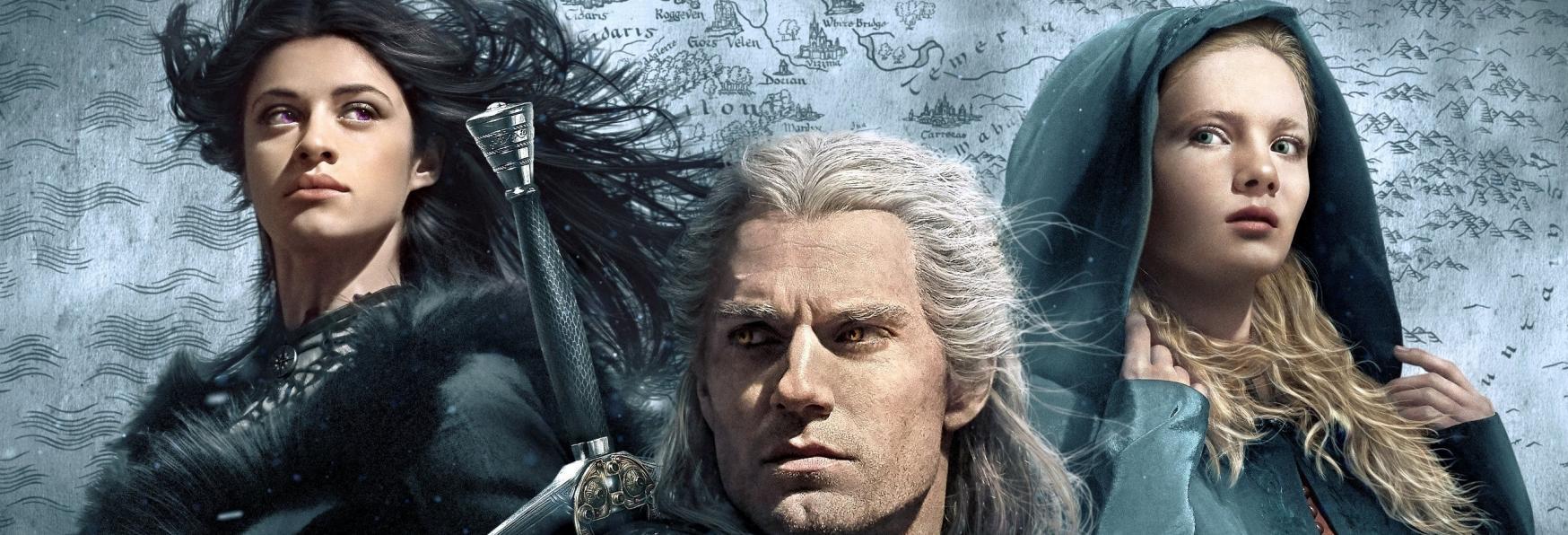 The Witcher 2: una Foto di Henry Cavill dal Set sotto la Pioggia