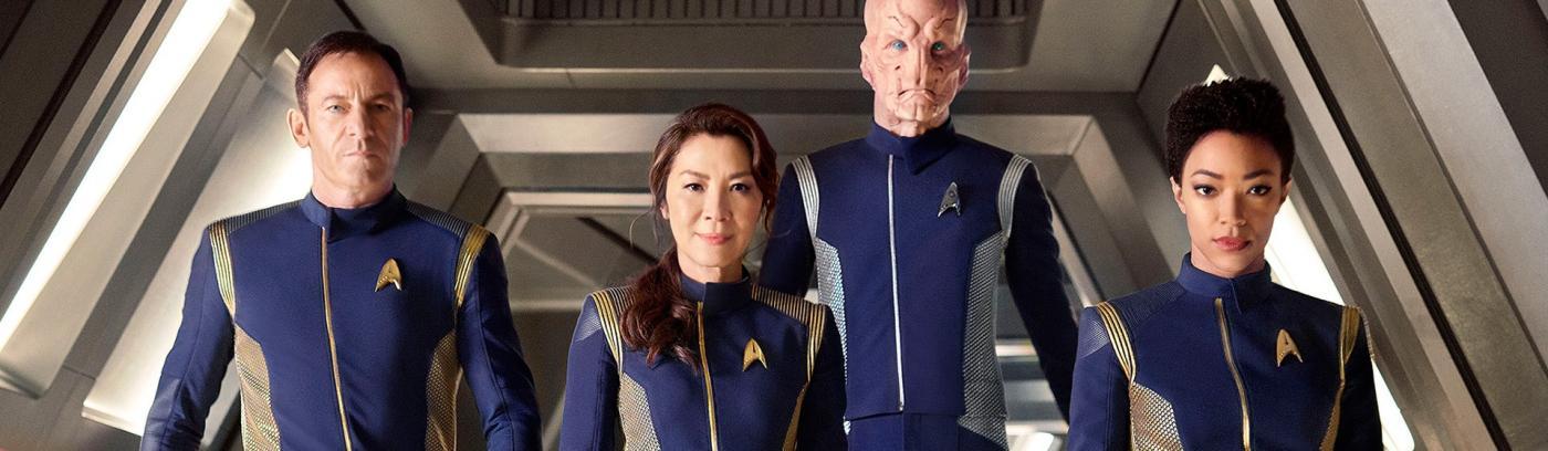 Jason Isaacs, Michelle Yeoh, Doug Jones, Sonequa Martin-Green - Star Trek: Discovery