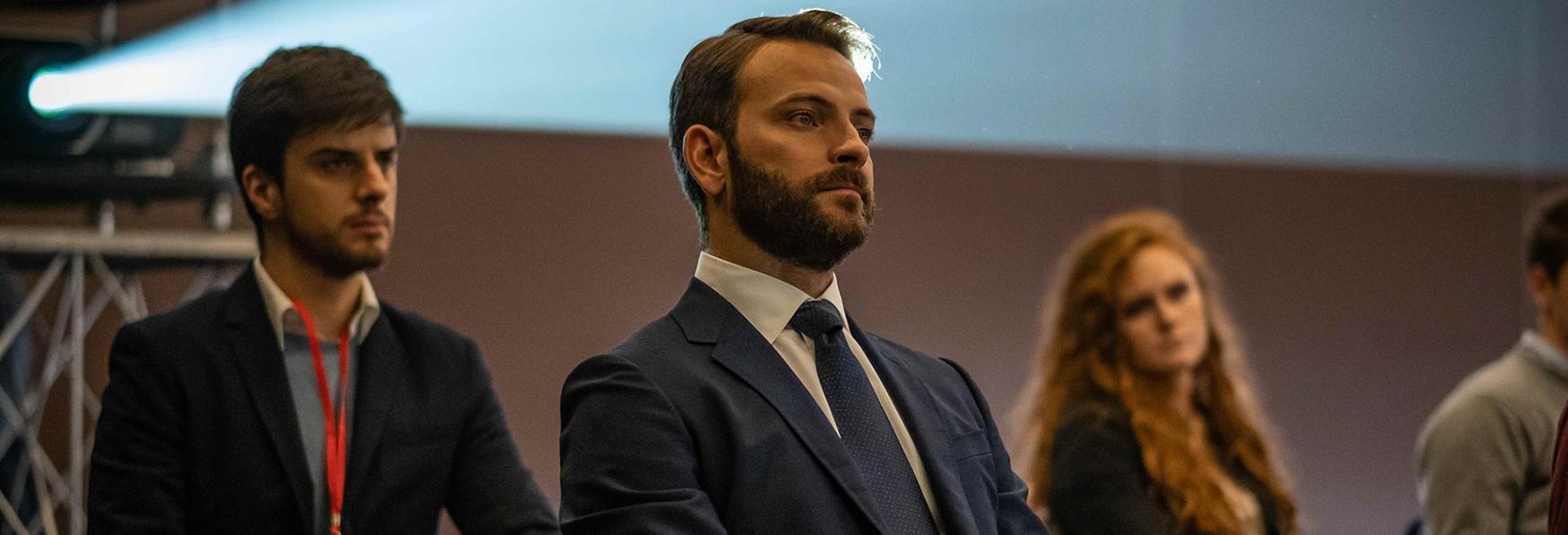 Diavoli: Alessandro Borghi commenta la Serie TV con i The Jackal
