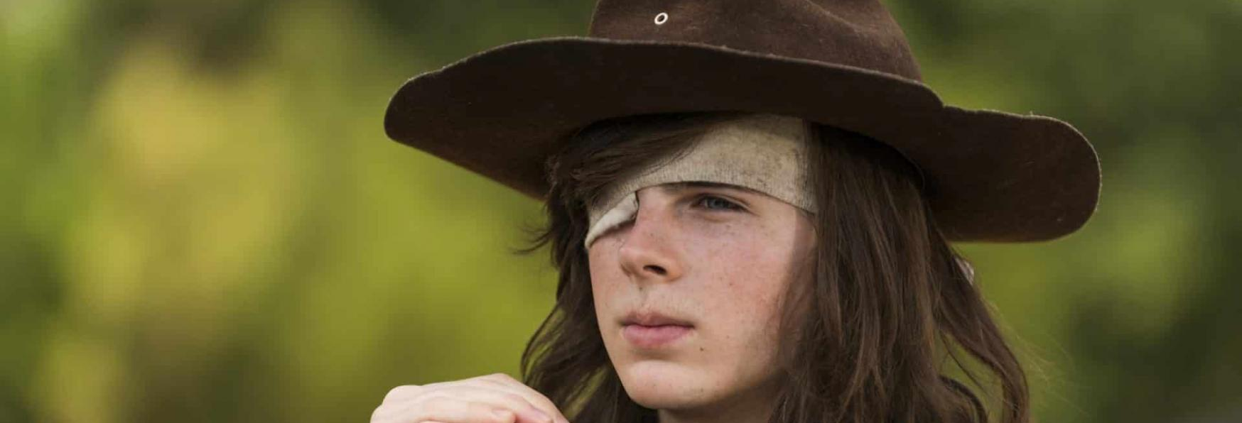 """The Walking Dead: Rivedremo Carl Grimes? Chandler Riggs dice: """"Vedremo""""."""