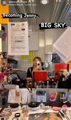 Big Sky: La star di Vikings Katheryn Winnick condivide i Primi Scatti dal set della nuova Serie TV ABC