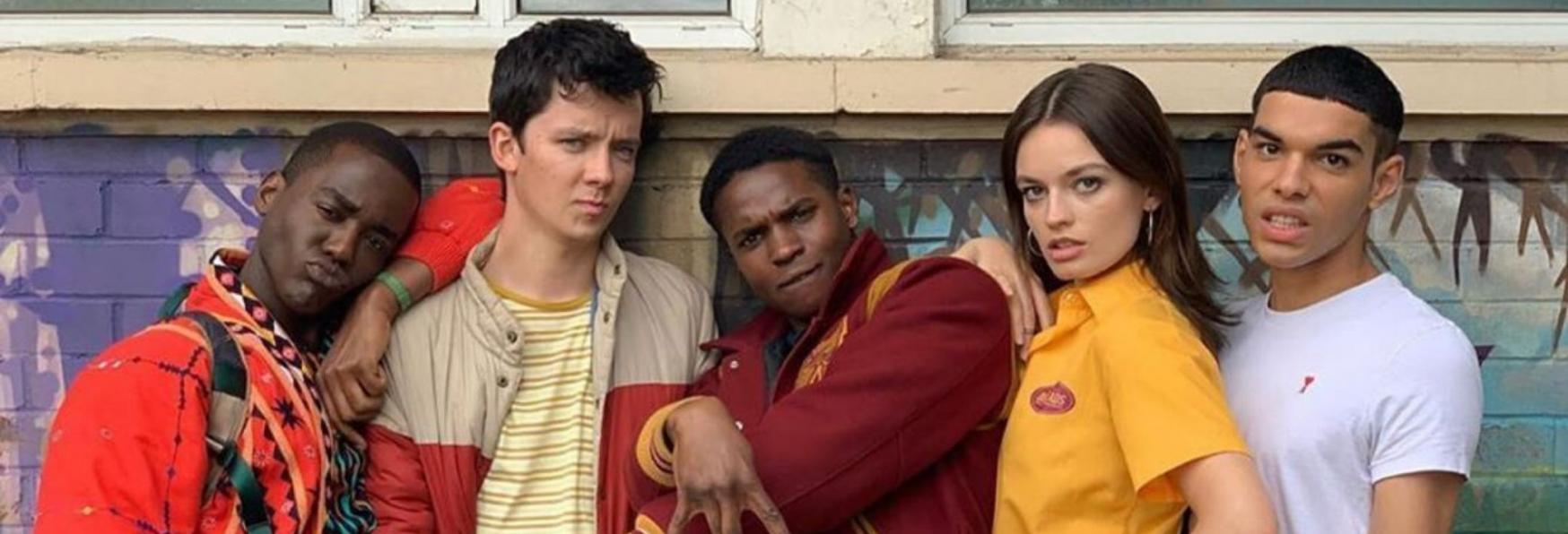 Sex Education 3: Ricominciano le Riprese della nuova Stagione della Serie TV Netflix con Gillian Anderson