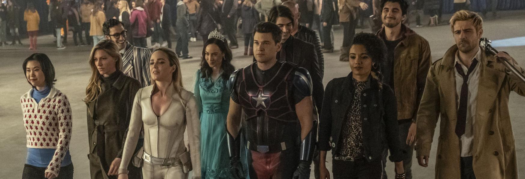 Legends of Tomorrow: la Serie TV torna al lavoro in piena Sicurezza