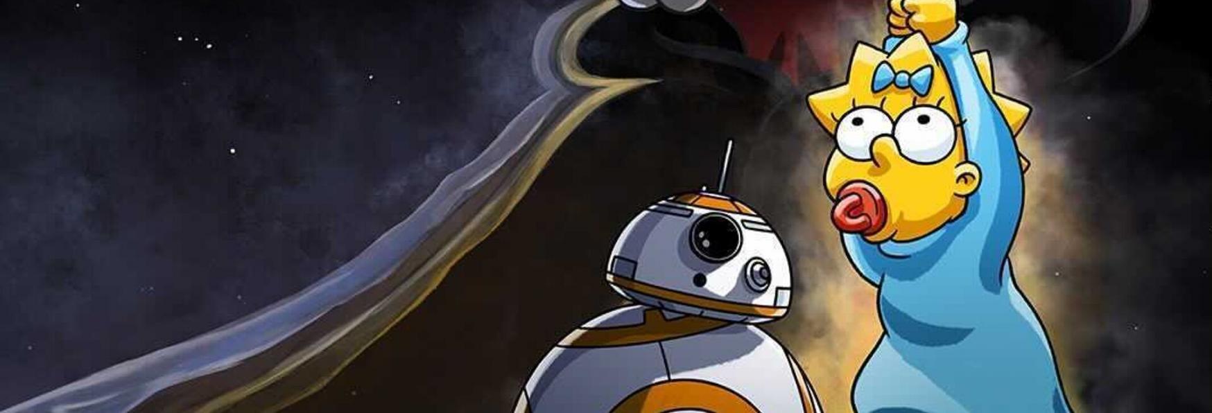 Disney+ rivela i piani per lo Star Wars Day, incluso un Crossover de I Simpson