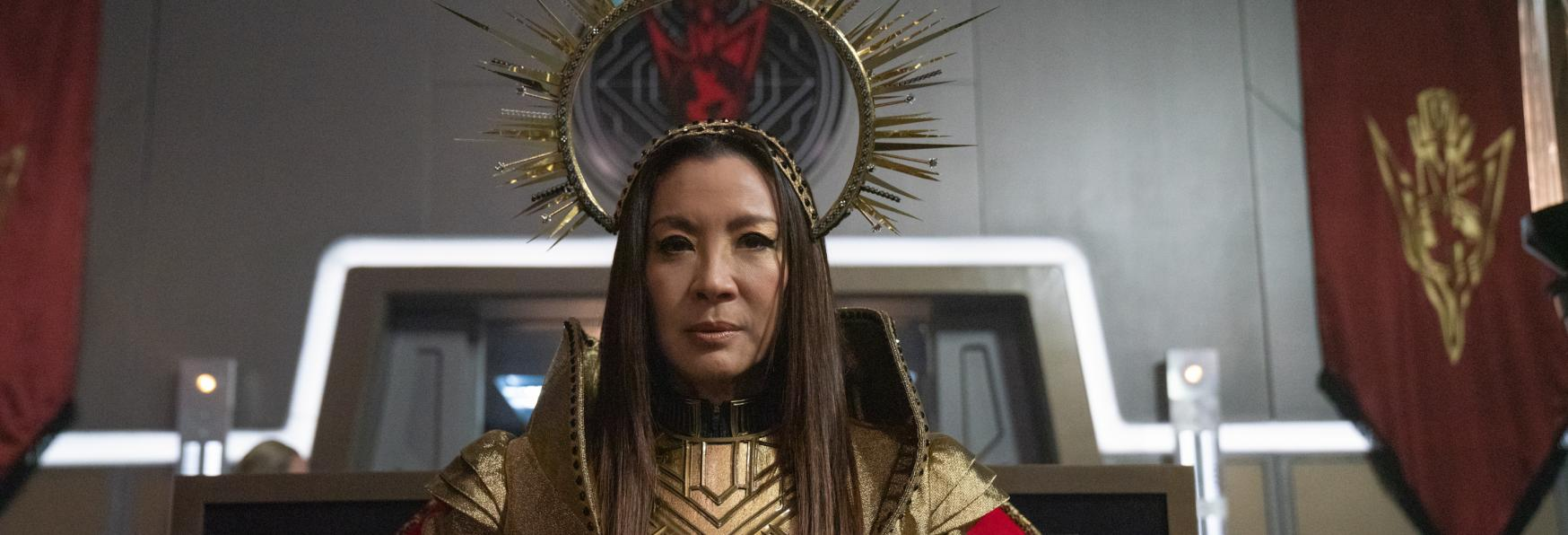 Star Trek: Discovery - Michelle Yeoh parla del Futuro dell'Imperatrice Georgiou