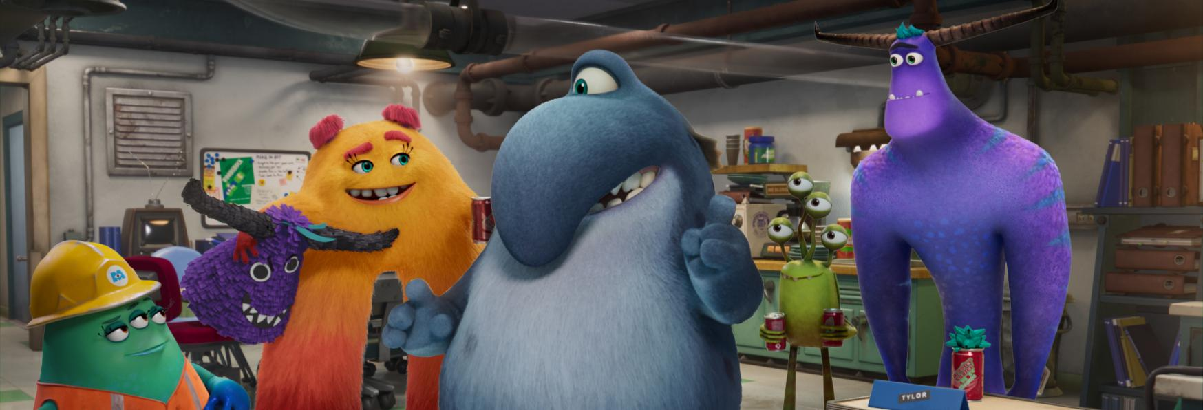 Monsters at Work: Disney+ Rilascia il primo Teaser Trailer della Serie Animata