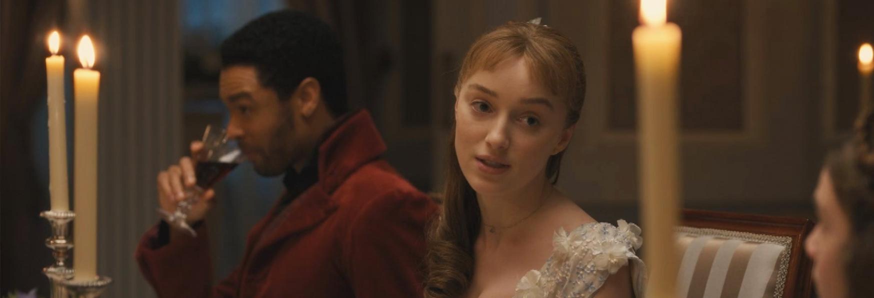 Bridgerton: Phoebe Dynevor (Lady Daphne) parla dell'Addio del Duca Regé-Jean Page