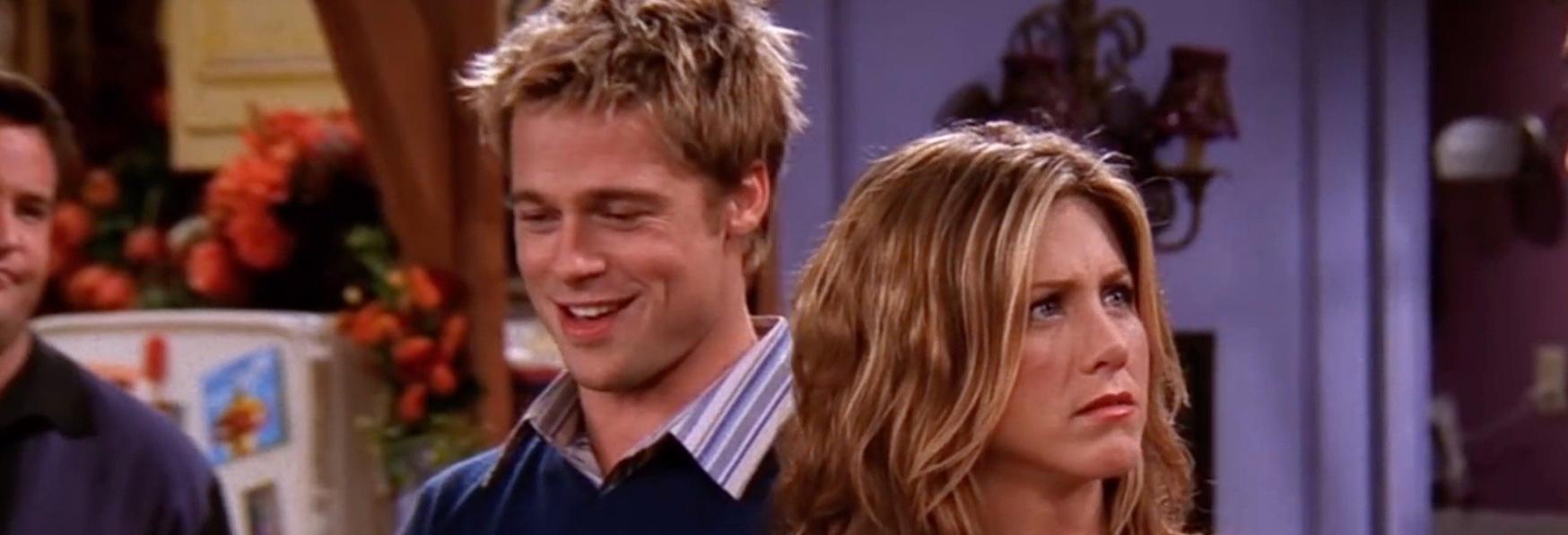 Friends: una delle Guest Star preferite di Jennifer Aniston? Brad Pitt!