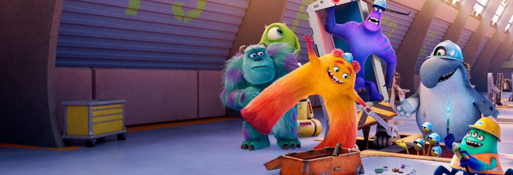 Monsters at Work: la Data di Uscita e il Trailer della nuova Serie Animata di Disney+