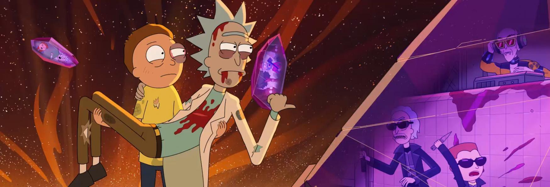 Rick and Morty 5: inizia il Countdown per il Debutto della nuova Stagione!