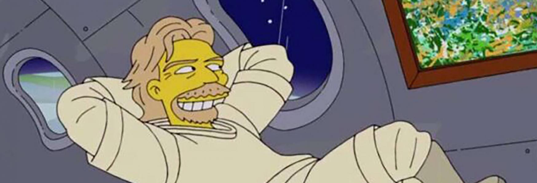 I Simpson: i Fan credono che la Serie Animata abbia previsto il Volo di Richard Branson