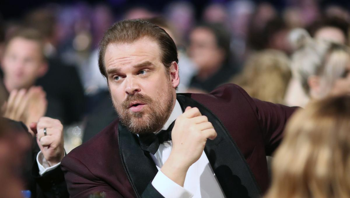 Stranger Things 4: David Harbour vorrebbe un Easter Egg sul Red Guardian di Black Widow