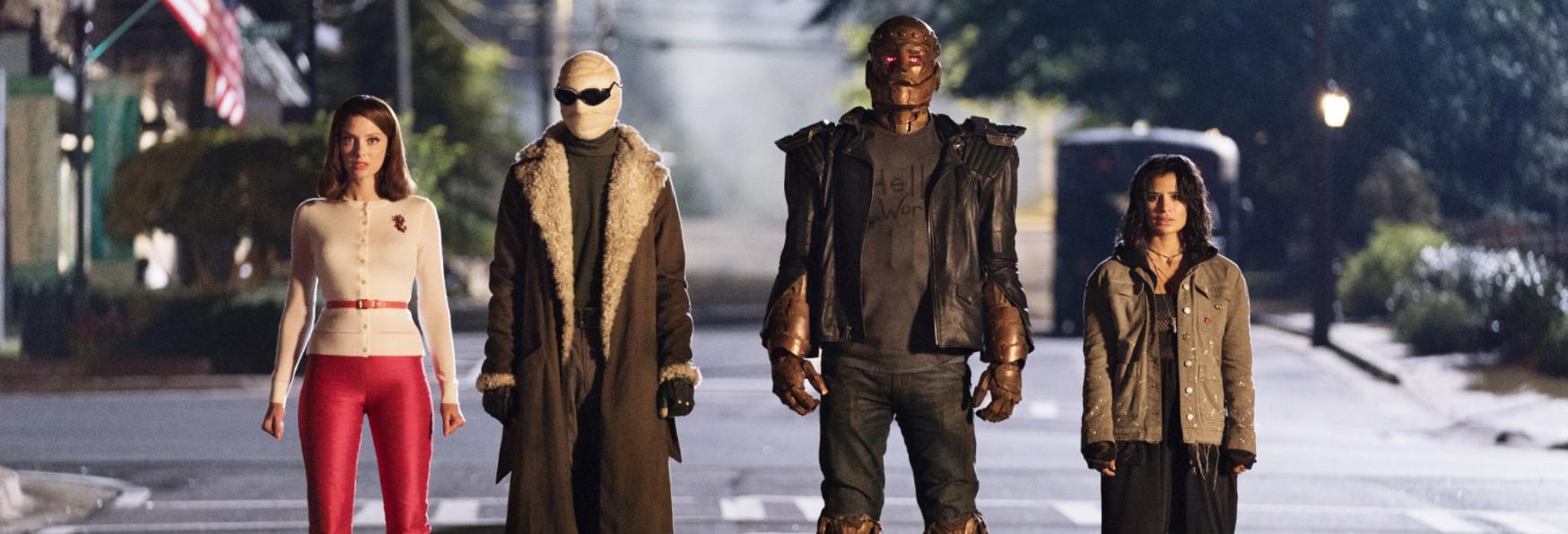 Doom Patrol 3: un sacco di Azione nella Prossima Stagione della Serie TV DC