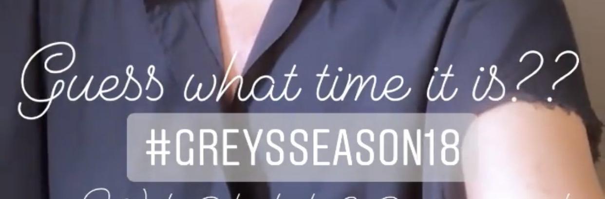 Grey's Anatomy: al Via le Riprese della 18° Stagione della Serie TV targata ABC