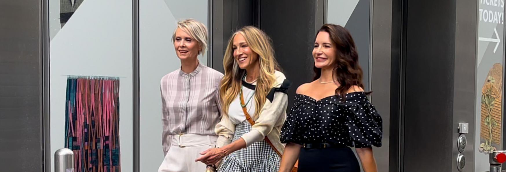 And Just Like That...: Carrie, Miranda e Charlotte nel nuovo Promo della Serie TV Revival di HBO Max