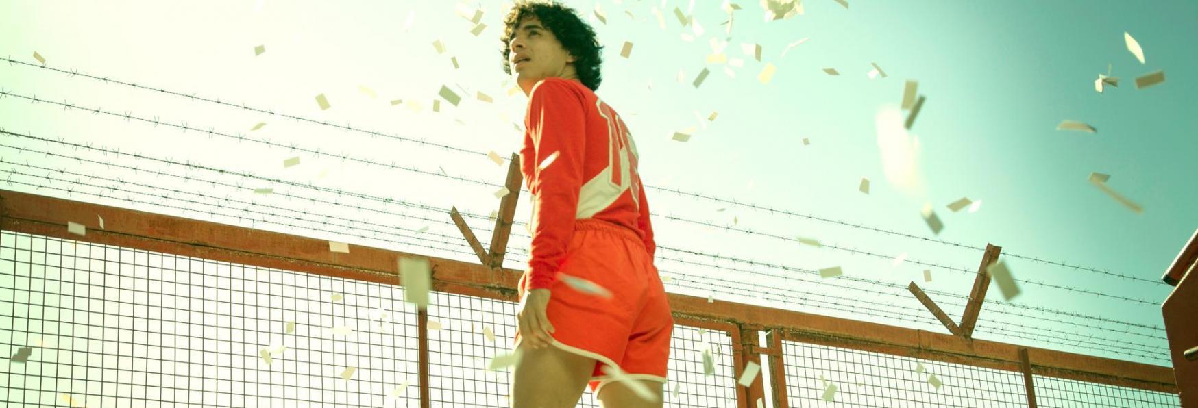 Il Poster e il Trailer della nuova Serie TV Amazon su Maradona
