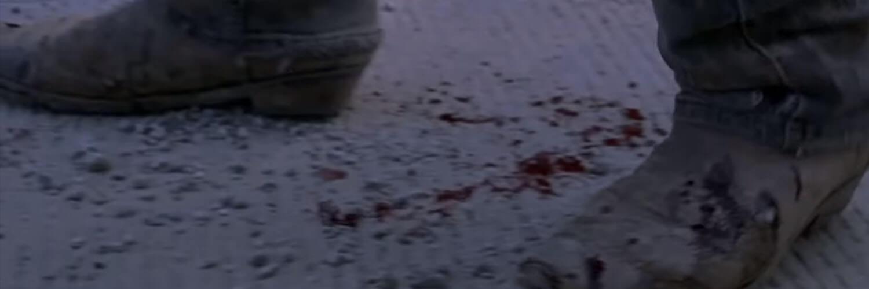 Uomo sanguinante, si tratta di Rick?