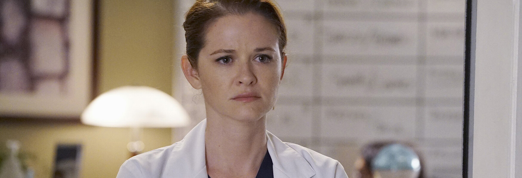 Il doloroso addio di Sarah Drew a Grey's Anatomy