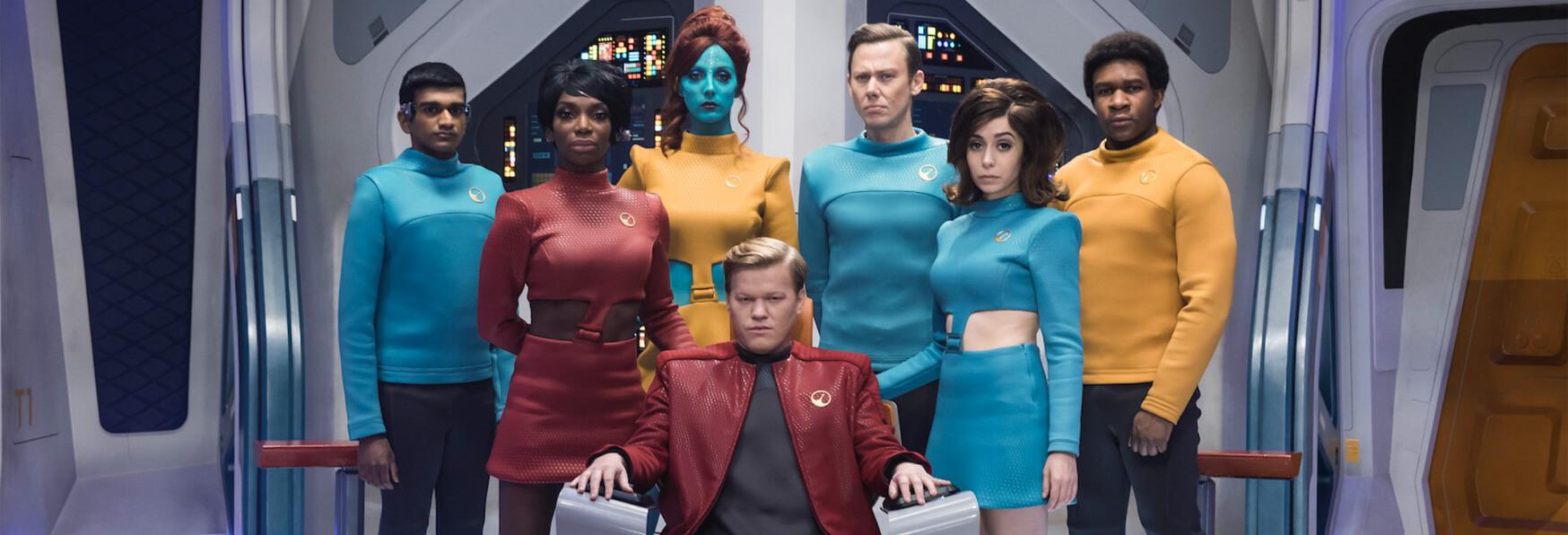 Una Serie TV dall'Episodio di Black Mirror, USS Callister?