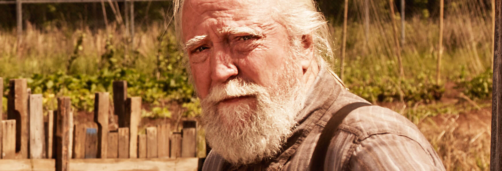 Muore Scott Wilson, Hershel Greene in The Walking Dead