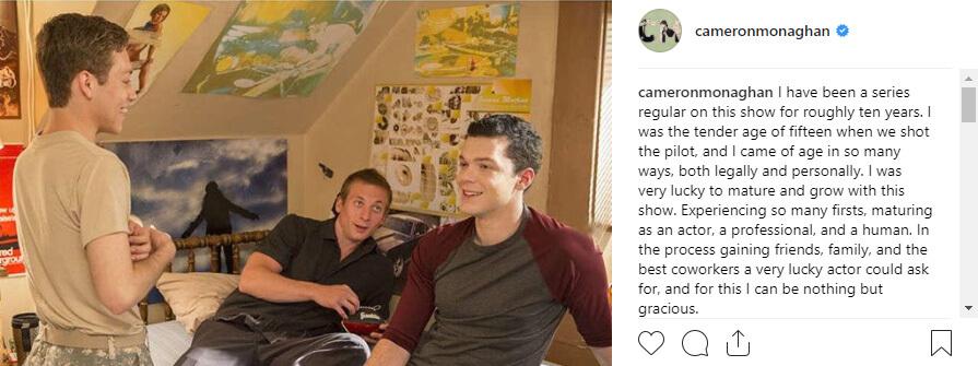 L'Addio di Cameron a Shameless