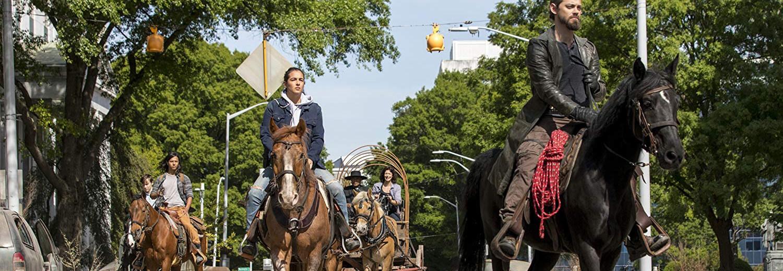 Rick, Michonne e Maggie, di The Walking Dead
